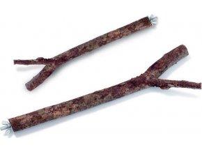 Bidýlko pták dřevo přírodní s vrutem Karlie 30 cm