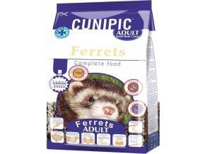 Cunipic Ferrets Adult - fretka dospělá 600 g