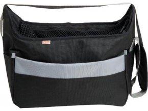 Transp. taška nylon Betty černá 40 cm - do 7,5 kg