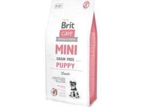 Brit Care Dog Mini Grain Free Puppy Lamb 7kg
