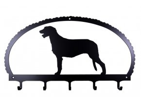dog key rack irish wolfhound