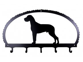 dog key rack great dane