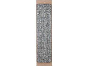 Škrábadlo nástěnné XL 17 x 70 cm - šedé