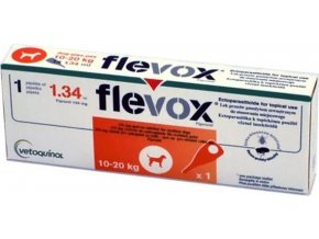 Flevox M 134mg  spot-on dog a.u.v. sol 1 x 1,34 ml