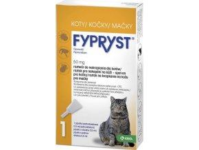 Fypryst spot on a.u.v. (kočka) sol 1x0,5 ml