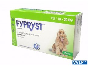 Fypryst spot on a.u.v. M (pes 10-20kg) sol 1x1,34 ml