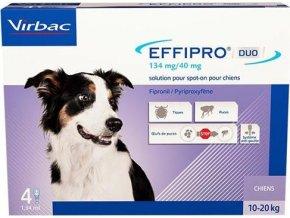 Effipro DUO Dog M (10-20kg) 134/40 mg, 4x1,34ml