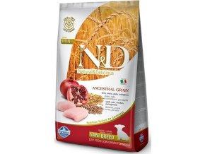 N&D Low Grain Dog Puppy Mini Chicken & Pom. 2,5 kg