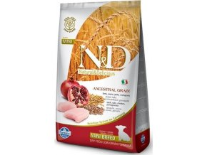 N&D Low Grain Dog Puppy Mini Chicken & Pom. 2,5 kg
