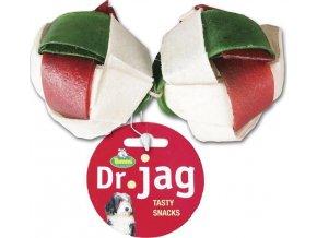 Dr. Jag Dentální splétané míčky velké 12x2ks