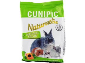 Cunipic Naturaliss snack Natural Salad pro drobné savce 60 g
