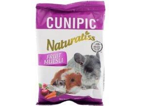 Cunipic Naturaliss snack Fruit Muesli pro drobné savce 60 g