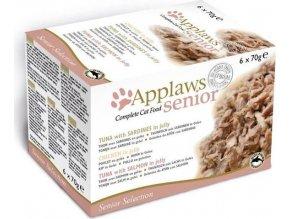 Applaws Cat konz. Senior Multipack 6 x 70 g