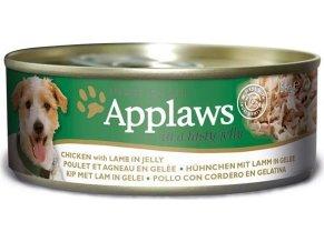 Applaws Dog konz. JELLY kuře s jehněčím masem v želé 156 g