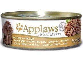 Applaws Dog konz. hovězí steak s bramborem 156 g
