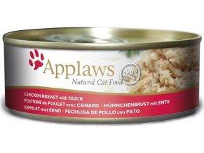 Applaws Cat konz. kuřecí prsa a kachna 156 g