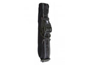 Obojek Hurtta Padded černý 30-40cm/30mm New
