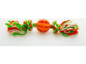 Baxter míček na provaze s uzly