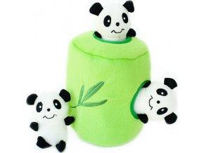 ZippyPaws Burrow - Pandy v bambusu