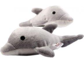 Delfín se šantou pro kočky