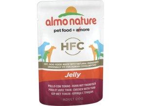 Almo Nature Classic Jelly - Kuře a tuňák v želé 70g