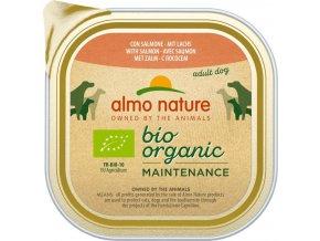 Almo Nature Daily Menu Bio WET DOG - s lososem 100g