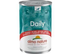 Almo Nature Daily Menu WET DOG - s hovězím 400g