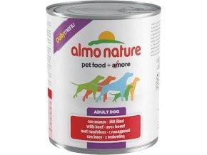 Almo Nature Daily Menu WET DOG - s hovězím 800g