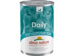 Almo Nature Daily Menu WET DOG - s jehněčím 400g