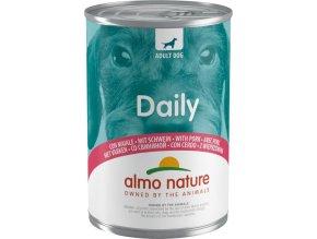 Almo Nature Daily Menu WET DOG - s vepřovým 400g