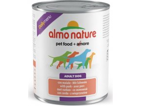 Almo Nature Daily Menu WET DOG - s vepřovým 800g