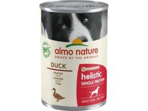 Almo Nature - 100% single protein - Kachna 400g