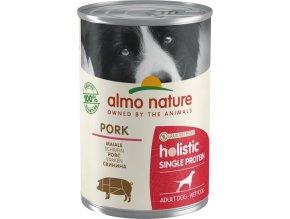 Almo Nature - 100% single protein - Vepřová 400g