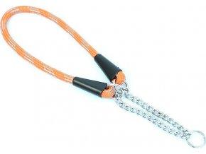 Aminela obojek lano - Serie G, velikost 10x45, oranžová/šedá
