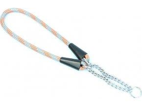 Aminela obojek lano - Serie G, velikost 10x45cm, šedá/oranžová