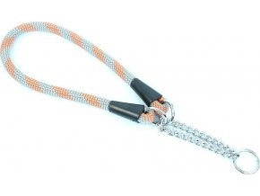 Aminela obojek lano - Serie G, velikost 14x65, šedá/oranžová