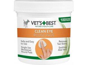 """Vet's Best - """"ČISTÉ OKOLÍ OČÍ"""" - vlhčené ubrousky na čištění očí"""