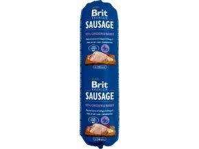 Brit salám Sausage Chicken & Rabbit 800 g