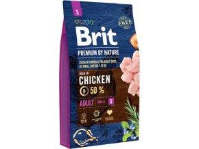 Brit Premium Dog by Nature Adult S 8kg