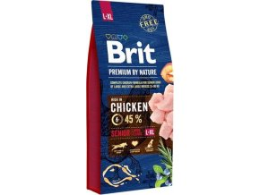 Brit Premium Dog by Nature Senior L+XL 15kg