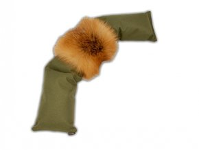 Firedog 3-part dummy 4,0kg khaki fox fur