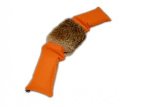 Firedog 3-part dummy 4,0 kg oranžový rabbit fur