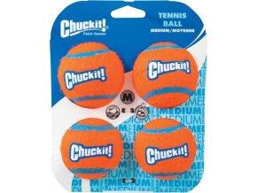 Míčky tenisové 6,5cm 4ks