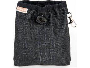 Pamlskovník nylon černý 15 x 15 cm