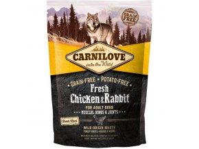 Carnilove Dog Fresh Chicken & Rabbit for Adult 1.5kg