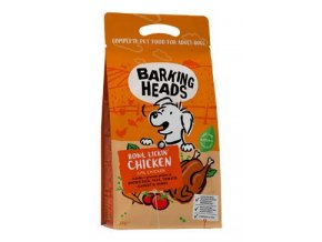 BARKING HEADS Bowl Lickin' Chicken 2kg  + 1x BH Baked Treats Apple Snaffles 100g