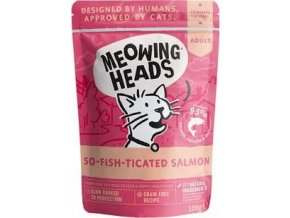 MEOWING HEADS So-fish-ticated Salmon 100g