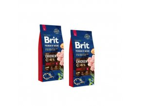 Brit Premium Dog by Nature Adult L 2x15kg