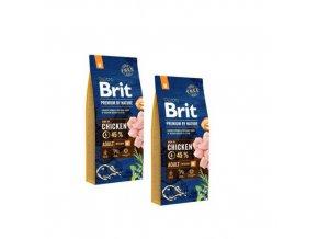 Brit Premium Dog by Nature Adult M 2x15kg