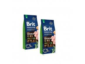 Brit Premium Dog by Nature Adult XL 2x15kg